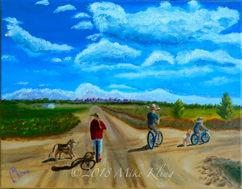 Bike Ride with Dogs